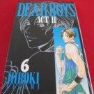 Dear Boys ACT II #6 Manga Japanese / YAGAMI Hiroki