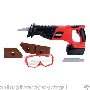 """My First Craftsman """"Motorized"""" Reciprocating Saw With Goggles"""
