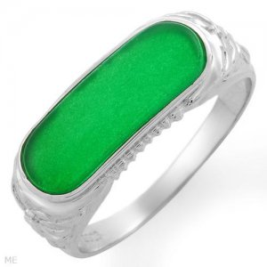 Brand New Ring With Genuine Jade