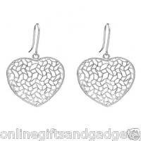 Terrific Brand New Earrings Crafted in 925 Sterling silver Length 36mm