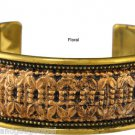Classic Bidri Cuff Bracelet - Handmade in and fairly traded from India