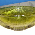 1975 - 36 YEAR OLD GREEN GRASS LOOK GLASS BOWL - BEAUTIFUL