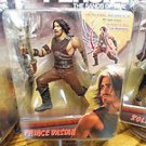 LOT OF 3 DISNEY'S PRINCE OF PERSIA THE SANDS OF TIME MOVIE FIGURES- NIB