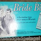 VINTAGE 42 YR OLD GAME BY LEISTER GAME CO INC .-  BRIDE BINGO
