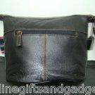 St. John's Bay® Gemma Leather Bucket Handbag