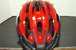 BICYCLE SAFETY HELMET/UNISEX - W/STRAP