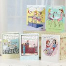 LOT OF 72-Pc.  Woman-To-Woman Any Occasion Humorous Card Set - BRAND NEW
