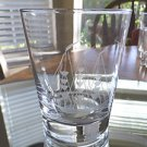 1 NAUTICAL THEMED DRINK GLASS - BEAUTIFUL