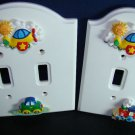 CHILDRENS NURSEY OR BEDROOM SWITCH PLATES