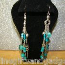MIXED TURQUOISE PIERCED EARRINGS BY COLOR CRAZE