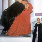 9452 Mens & Ladies 1800's Style Costume Cloak Cape Pattern UNCUT sz S-L 2000