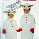 3657 Toddler Shari Lewis LAMB CHOP Costume Pattern sz 2-6X UNCUT