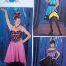 Dance Tops & Skirts SALSA SWING HIP HOP Costume Pattern sz 6-10 UNCUT