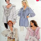 6618  Ladies Casual Blouses Pattern UNCUT size medium 12-14 - 1993