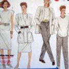 3414 Ladies Easy Wardrobe Jacket sSkirt Pants Pattern sz 20 UNCUT