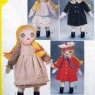 5784 Victorian RAG DOLL & Clothes Pattern UNCUT  - 1982