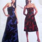 Vogue 2740 MICHAEL KORS Strapless Halter Dress Pattern sz 8-12 UNCUT