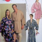 VOGUE 7637 Unisex Mens Womens Robes  PATTERN sz 34-36 UNCUT