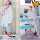 2703 Vogue DONNA KARAN Jacket Pants Pattern sz 6-10 UNCUT - 1991