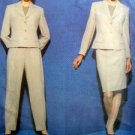 Vogue 1841 CALVIN KLEIN Jacket Skirt & Pants  PATTERN 8-12 UNCUT