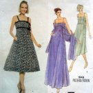 Vintage 1848 Vogue Empire Waist Dress Stole ALBERT NIPON Pattern sz 10 UNCUT