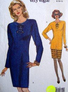 8460 Vogue Classic Dress & Top & Skirt Pattern 8-12 UNCUT - 1992