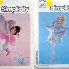 "Vintage MOON BABY Patterns Ballerina & Nite Cap 17"" 1985 Marge Tonner"