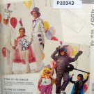 4957 CIRCUS PERFORMERS Costume Pattern sz Kids 4-6 UNCUT - Schewe