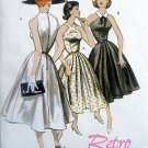 5033 Retro 1952 Sleeveless Flared Summer Dress Pattern  sz 6-12 UNCUT - 2007