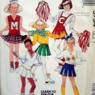 3794 Girls CHEERLEADER MAJORETTE Costume Pattern sz 7 UNCUT - 1988