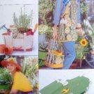 Garden Apron  Bucket Liner  Knee Pads Accessories Pattern UNCUT -1996