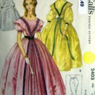 Vintage 2403 SOUTHERN BELLE Gown & Pantaloons Costume Pattern AD 10-12 UNCUT