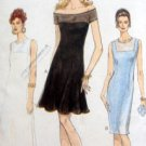 9475 VOGUE  Easy Tapered or Flared Yoked DRESS Pattern sz 14-18 UNCUT