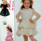Adorable 8367 UNCUT Little Girls Balloon Bubble Skirt  Dress Pattern - Size 6
