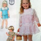 Adorable 7988 UNCUT Little Girls Drop Waist  Dress  Pattern -  Size 2