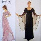 8619 Begotten Medieval Goth Ladies Gown Pattern sz 10 - 14 UNCUT - 1999