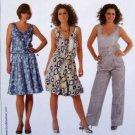 7782 Burda Ladies Dress Top  Pattern sz 8-20 UNCUT