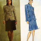 2953 Vogue ANNE KLEIN Jacket & Skirt Pattern sz 14-20 UNCUT -