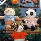 Vintage 6053 Shirt Tales Stuffed Pammy Rick & Tyg  Pattern   UNCUT - 1983
