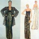 Vintage 2183 Vogue Paris Pattern ST LAURENT Wrap Gown & Jacket - UNCUT