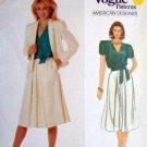 2924 VOGUE American Designer JOSEPH PICONE Jacket Skirt Pattern sz 12 UNCUT