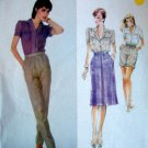 2520 VOGUE American Designer DON SAYERS Skirt Pants Pattern sz 14 UNCUT