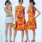 7830 Burda Sundress &  Top Pattern size16-18  UNCUT