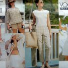 Vogue 2317 Jacket Bandeau Dress Skort Pants Pattern sz 12-16 1999 UNCUT