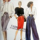 7364 Vogue Skirt & Pants Pattern sz 12-16 UNCUT 1988
