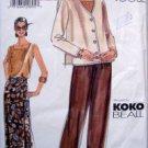 VOGUE 7052 KOKO BEALL Jacket Skirt Pants  PATTERN 18-22 UNCUT