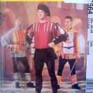 2664 MEDIEVAL Doublet Tabard Leggings Costume Pattern AD XL UNCUT