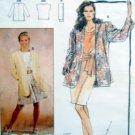 4820 Burda Courture Jacket Shorts Pattern sz 10-22 UNCUT