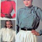 8901 McCalls  LIZ CLAIBORNE Blouse Pattern sz 16 UNCUT 1984