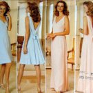 4298 Easy Pullover Evening or Short Dress Pattern size 6-12  UNCUT - 1995